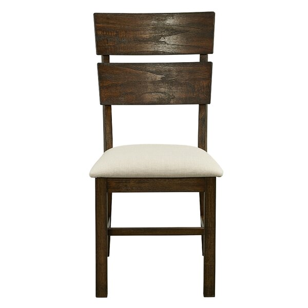 Cayuse Solid Wood Dining Chair (Set of 2) by Loon Peak