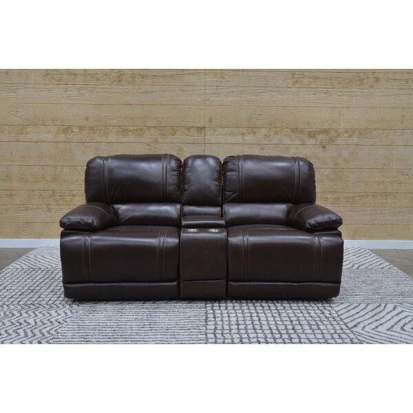 Dipasquale Reclining Loveseat by Darby Home Co