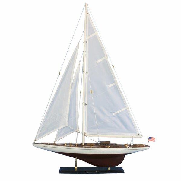 Wooden Sailboat Replica