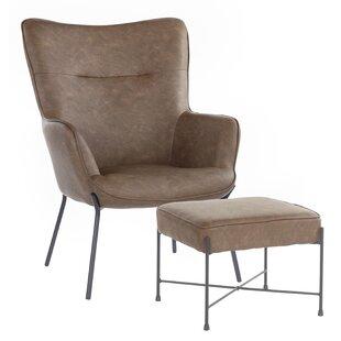 Martini Lounge Chair and Ottoman
