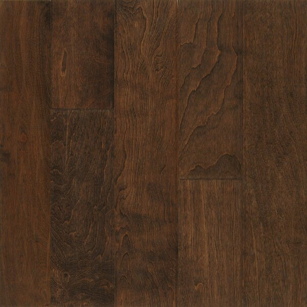 Frontier 5 Engineered Birch Hardwood Flooring in Vanilla Stick by Armstrong Flooring