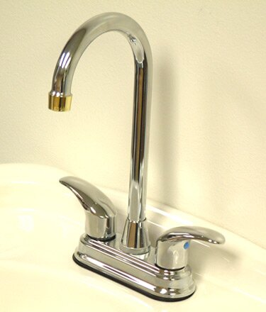 Legacy Double Handle Kitchen Faucet by Kingston Brass