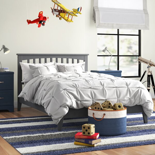 Caulksville Panel Bed By Three Posts Baby & Kids by Three Posts Baby & Kids Cool