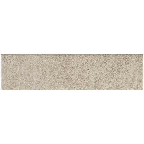Avondale 12 x 3 Ceramic Bullnose Tile Trim in Chateau Crème by Daltile