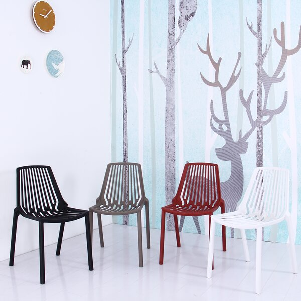 Arnette Plastic Side Chair (Set of 4) by Williston Forge