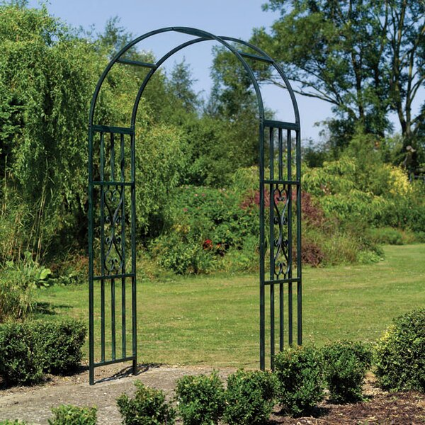 The Kensington Steel Arbor by World Source Partners