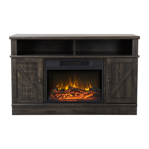 Kerry Media Electric Fireplace TV Stand by Homestar