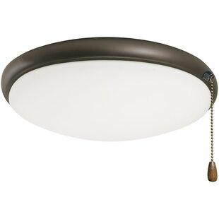 Bransford 2 Light Bowl Ceiling Fan Light Kit