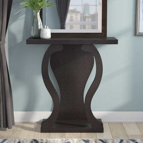 Affordable Price Hubbard 31.5 Solid Wood Console Table by Ebern Designs