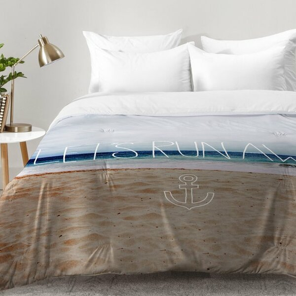 Lets Run Away III Comforter Set by East Urban Home