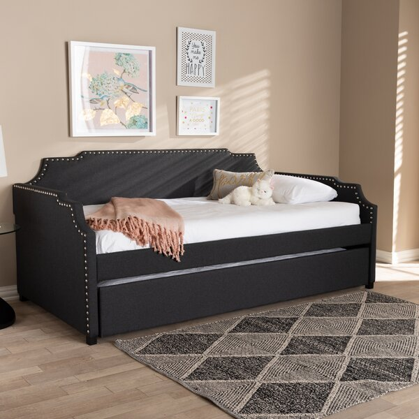 Burgan Twin Daybed with Trundle by House of Hampton House of Hampton