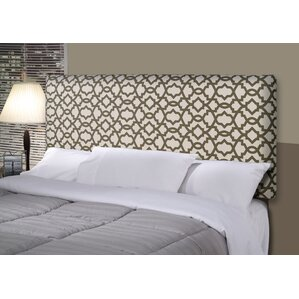 Devaney Upholstered Panel Headboard by Three Posts