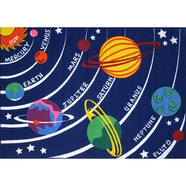 Fun Time Solar System Kids Rug by Fun Rugs