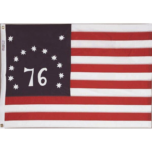 Nylon Bennington Dyed Traditional Flag by Annin Fl