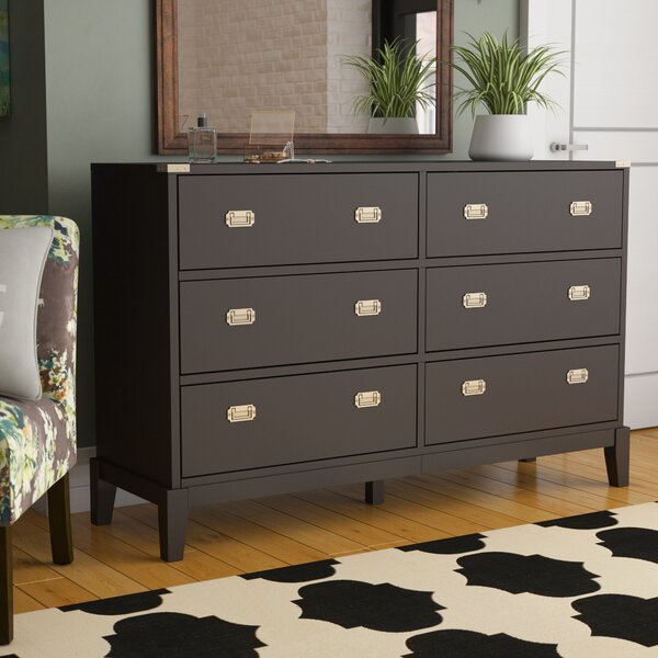 Neher 6 Drawer Double Dresser by Brayden Studio