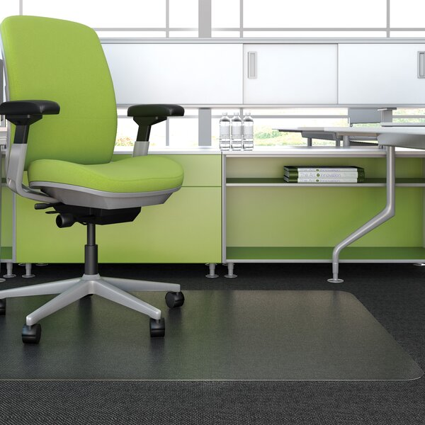 EnvironMat™ Low Pile Straight Edge Chair Mat by Deflect-O