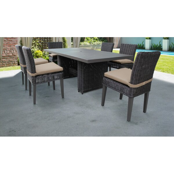 Fairfield 7 Piece Dining Set With Cushions By Sol 72 Outdoor