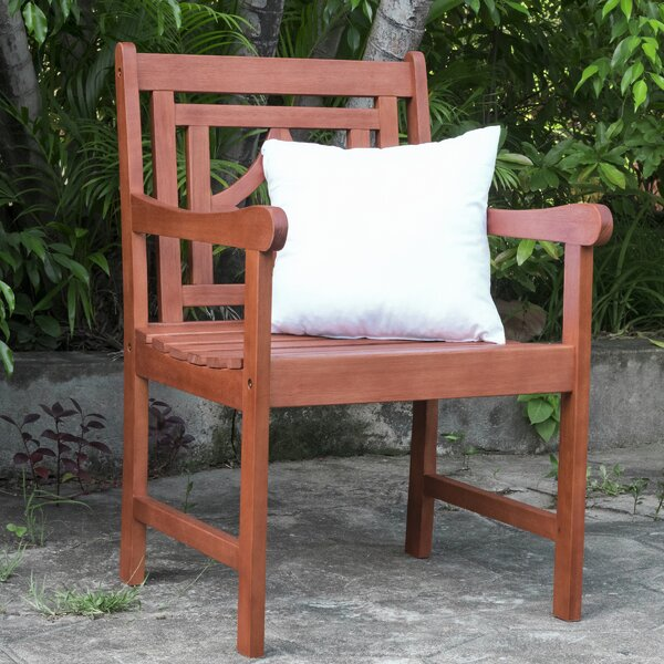 Amabel Diamond Patio Dining Chair By Beachcrest Home
