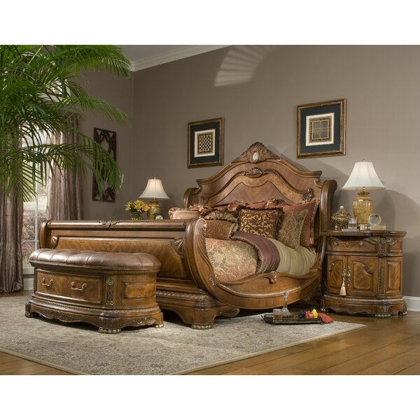 Best  Cortina Sleigh Bed By Michael Amini Coupon
