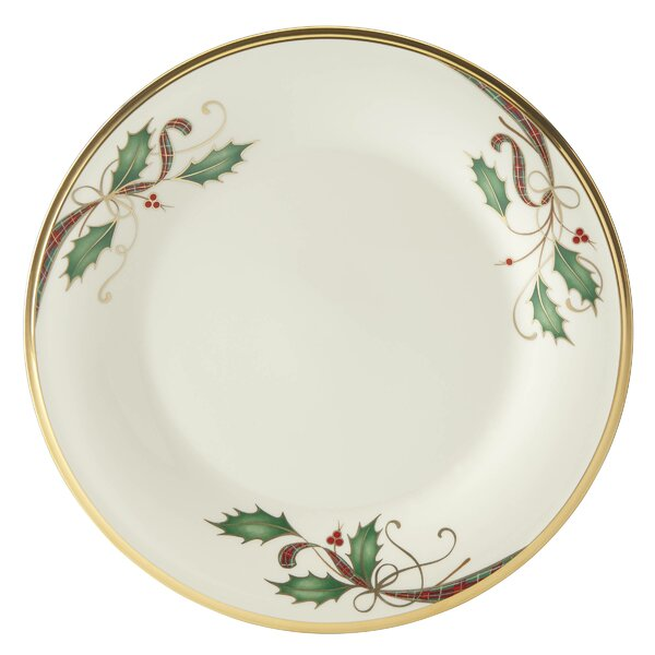 Holiday Nouveau 10.75 Dinner Plate by Lenox