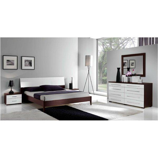 Queen Platform 3 Piece Bedroom Set by Noci Design