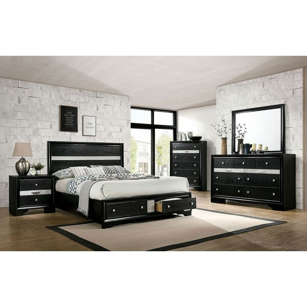 Matus Platform Solid Wood Configurable Bedroom Set by Rosdorf Park