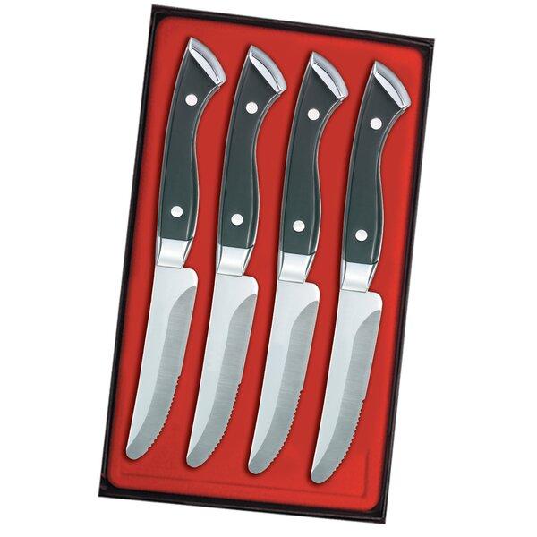 Boston Chop Steak Knife Set (Set of 4) by Utica Cutlery Company