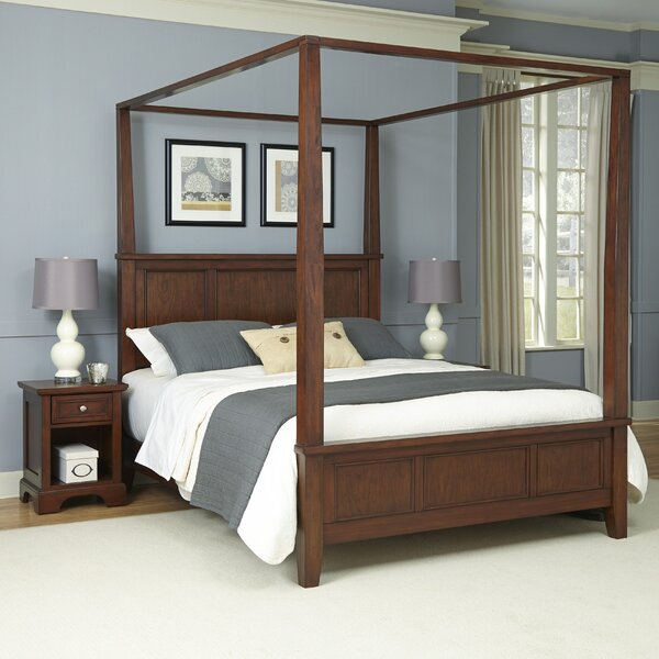 Borden Canopy 3 Piece Bedroom Set by Three Posts