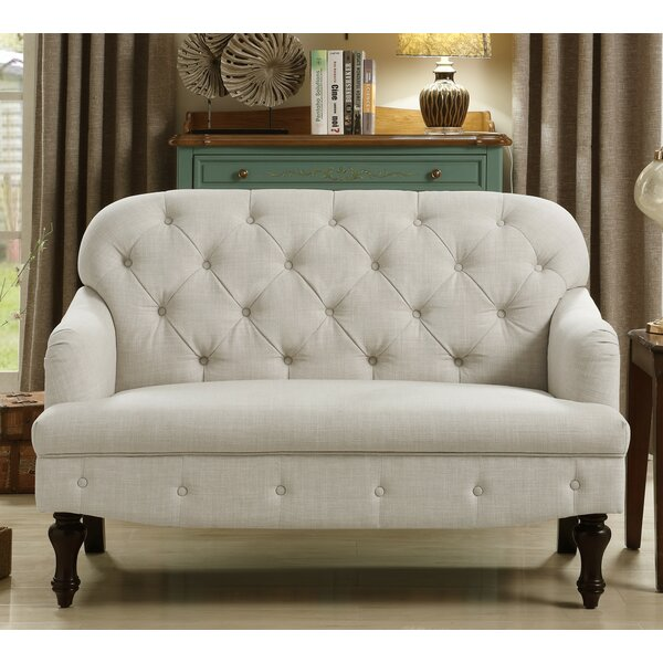 New Collection Janay Loveseat by Three Posts by Three Posts