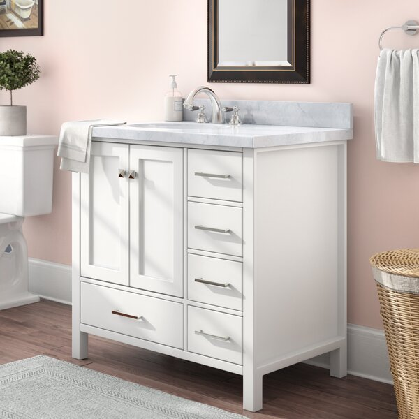 Utley Modern 37 Single Bathroom Vanity Set by Andover MillsUtley Modern 37 Single Bathroom Vanity Set by Andover Mills