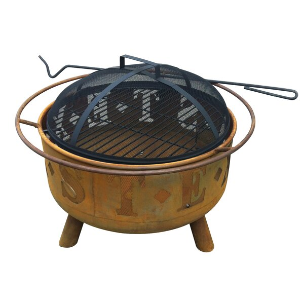 Texas Steel Fire Pit by Leigh Country