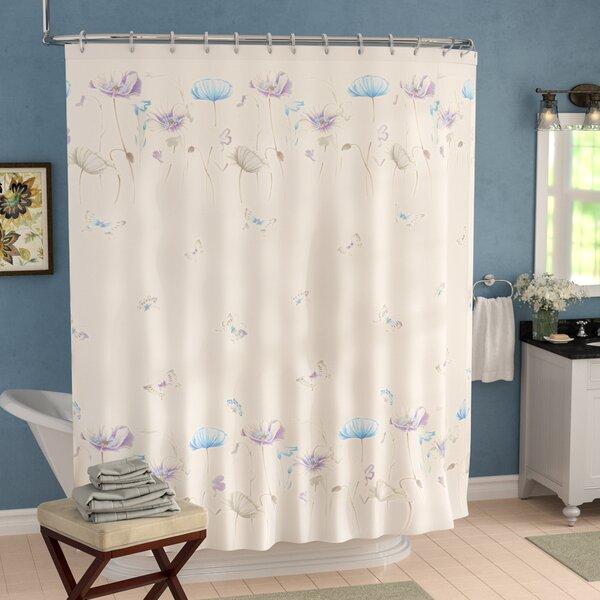 Adams Shower Curtain by Charlton Home