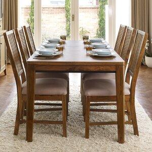 Essgruppe Lambourne mit ausziehbarem Tisch und 6 Stühlen von Red Barrel Studio