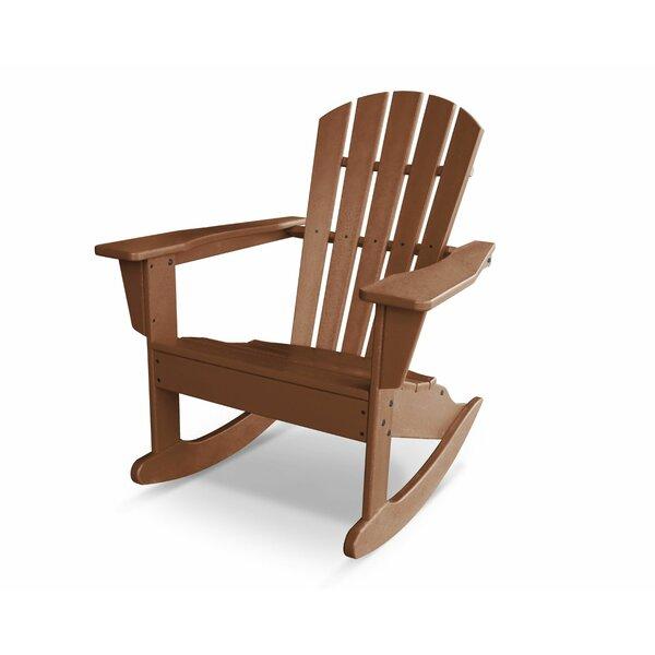 Palm Coast Plastic  Adirondack Rocking Chair by POLYWOOD®