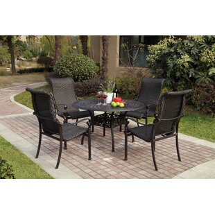 Kentland 5 Piece Dining Set By Darby Home Co