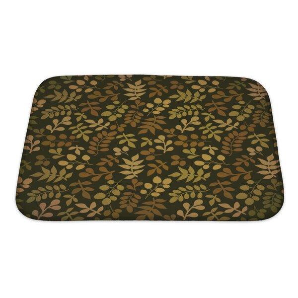 Cappa Leaf Bath Rug by Gear New