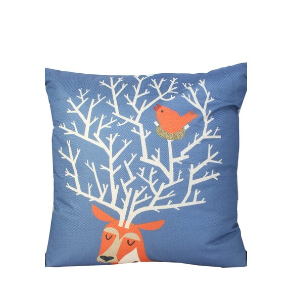 Newburn Print Throw Pillow by Ebern Designs