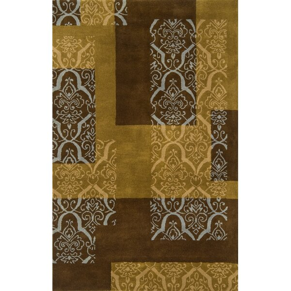 Edge Brown/Tan Area Rug by Continental Rug Company