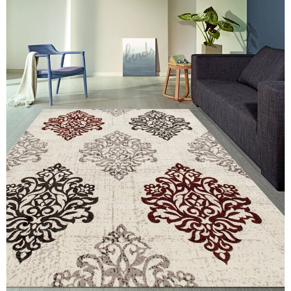Elite Beige/Black/Brown Area Rug by World Rug Gallery
