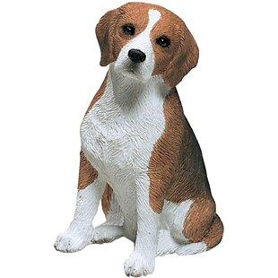 Charmant Mid Size Sculptures Beagle Figurine