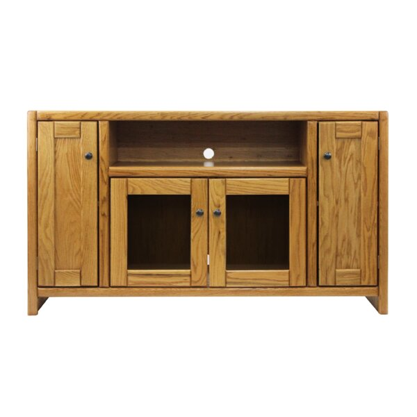Conner Solid Wood TV Stand For TVs Up To 70