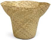 Chesney Natural Fibers Pot Planter by World Menagerie