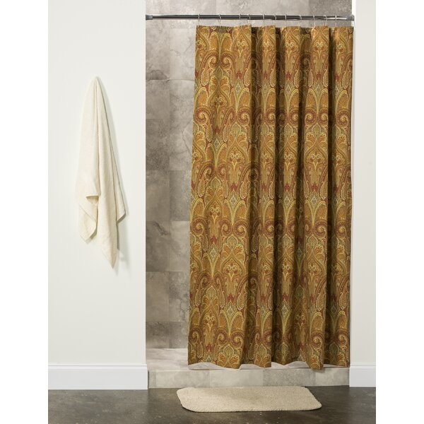 Javen Cotton Shower Curtain by Astoria Grand