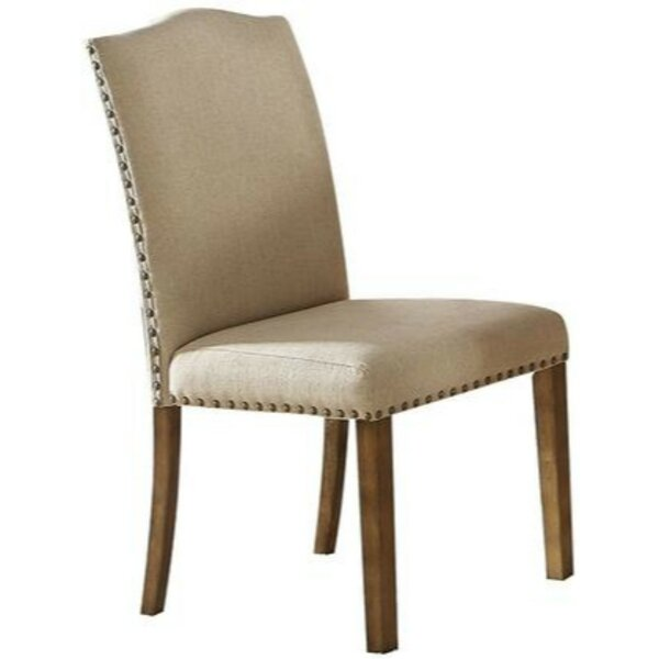 Cosmo Upholstered Dining Chair (Set of 2) by Alcott Hill