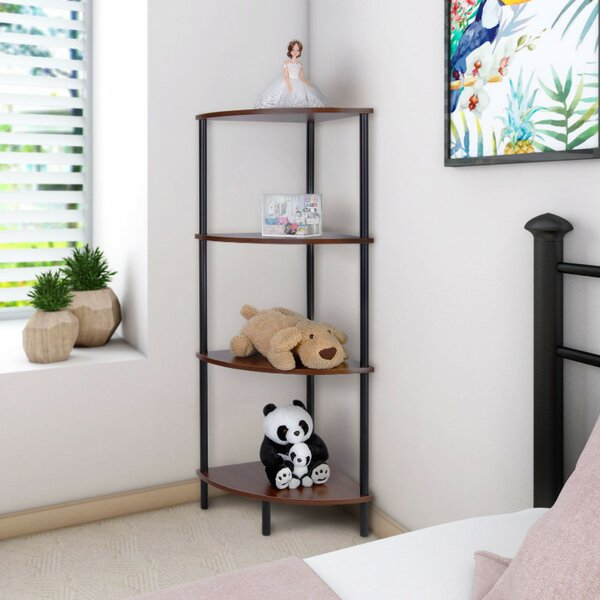 Corner Unit Bookcase by Lifewit