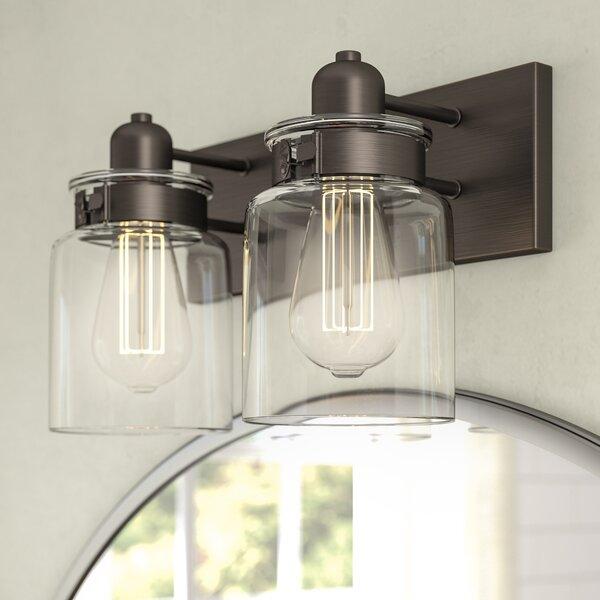 Vasilia 2-Light Vanity Light by Laurel Foundry Modern Farmhouse