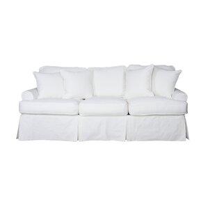 Coral Gables T Cushion Sofa Slipcover