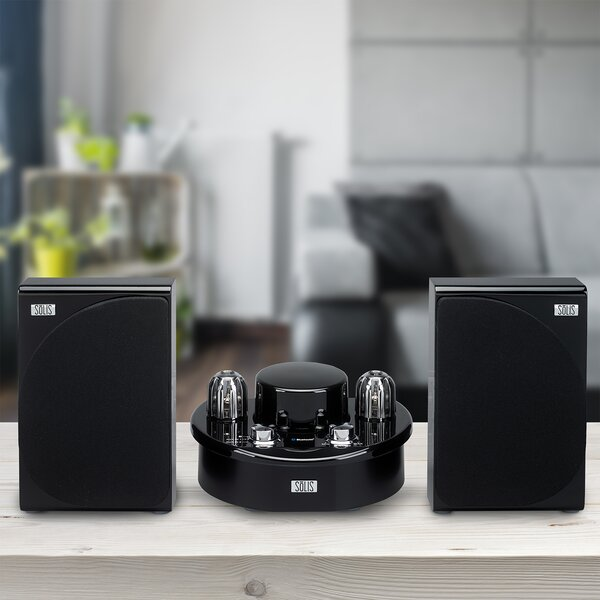 Stereo Bluetooth Vacuum Tube Audio System by SoLIS