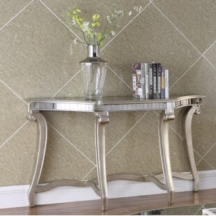 Derry Console Table and Mirror Set