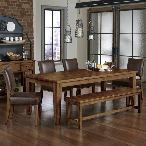Rader 6 Piece Solid Wood Dining Set by Gracie Oaks